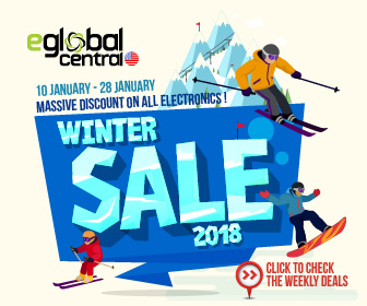eGlobal Central Winter Sale 2018 | Massive Discount On All Electronics